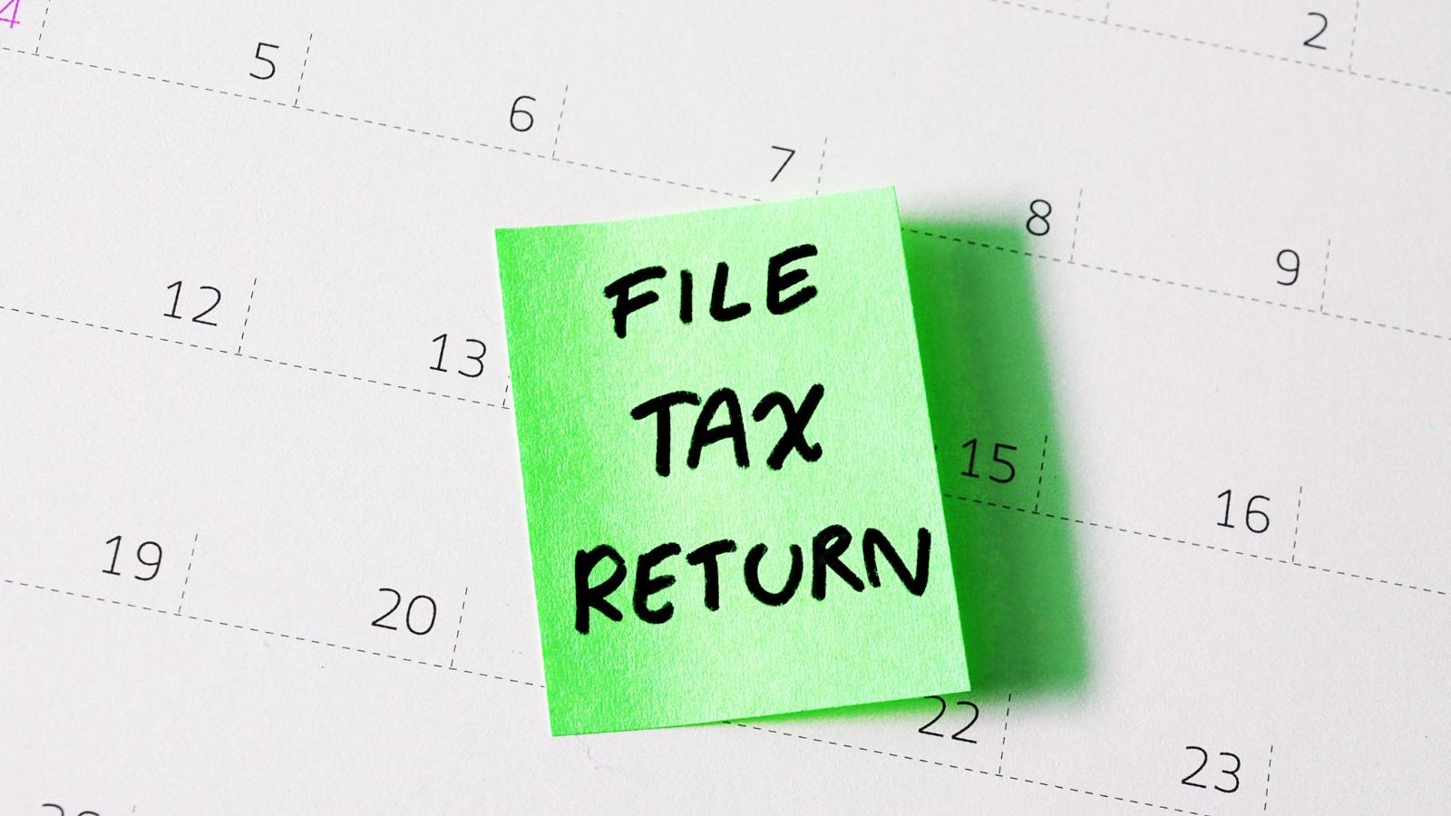 Self Assessment Tax Return